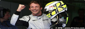 Button Up! F1 Leading Man for Brawn GP
