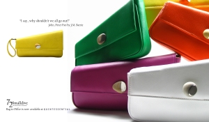Bag to Differ Coloured Clutches