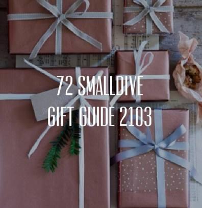 72 Smalldive Gift Guide 2013