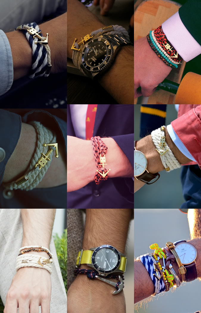 72 Smalldive ViTRINE Leather Bracelets 03
