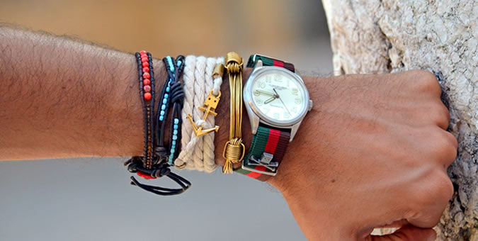 72 Smalldive ViTRINE Leather Bracelets